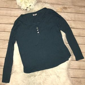 AG Adriano Goldschmied Henley Top  *